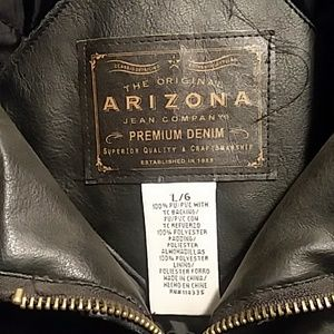Arizona Jean Company Jackets & Coats - Arizona Faux Leather Jacket